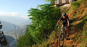 Sandy Above Paro Valley - Active Tours