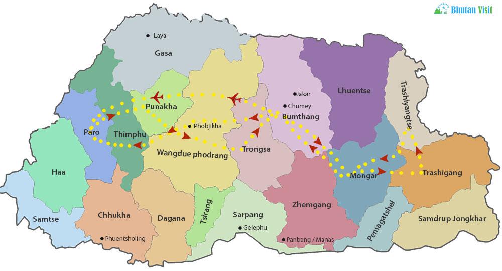 Bhutan Inspirational Tour