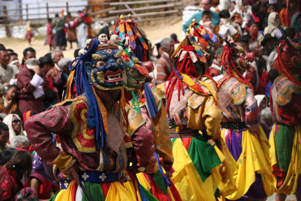 Mask Dance | Bhutan Visit