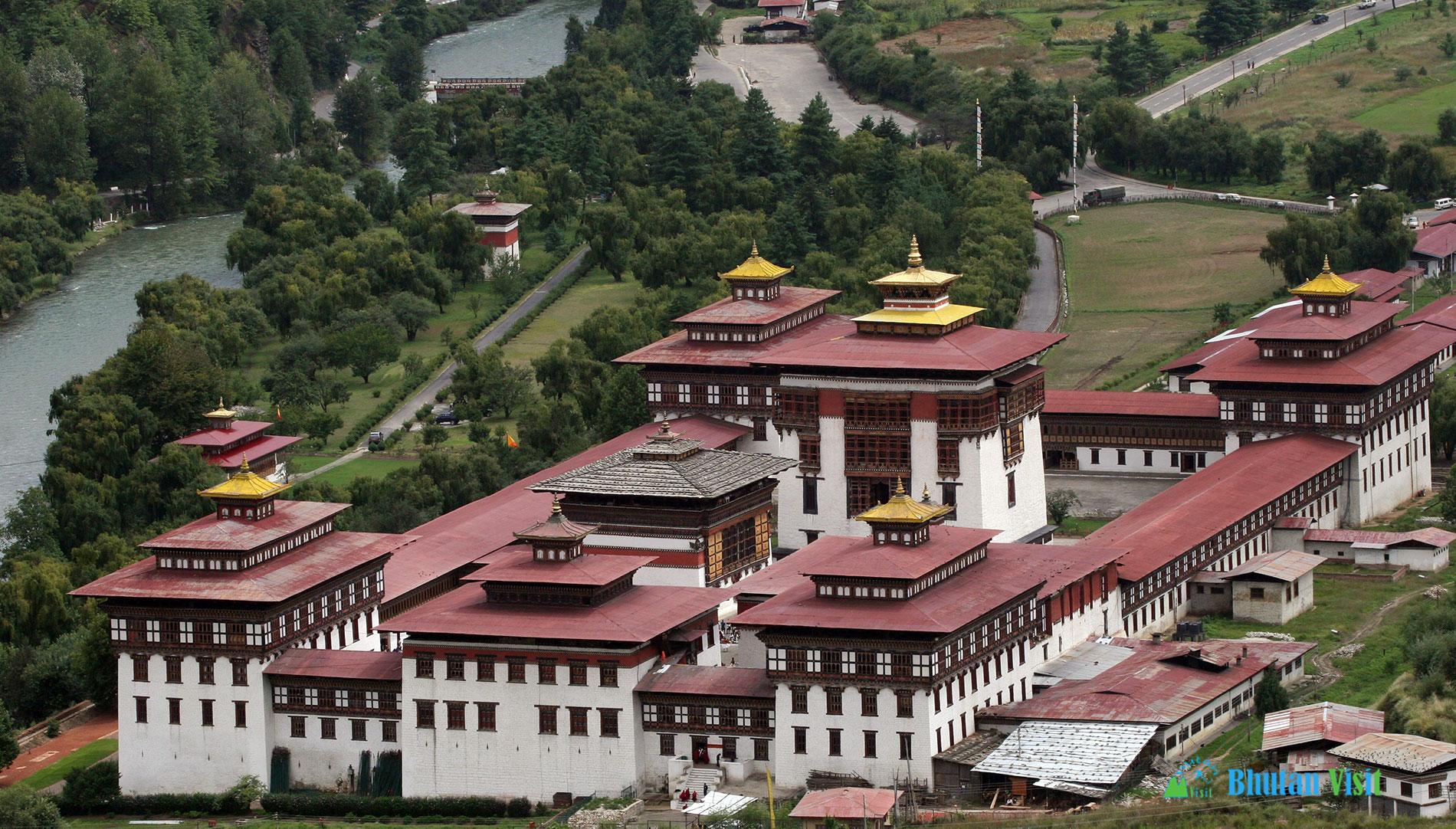 Thimphu Tashichhoe Dzong