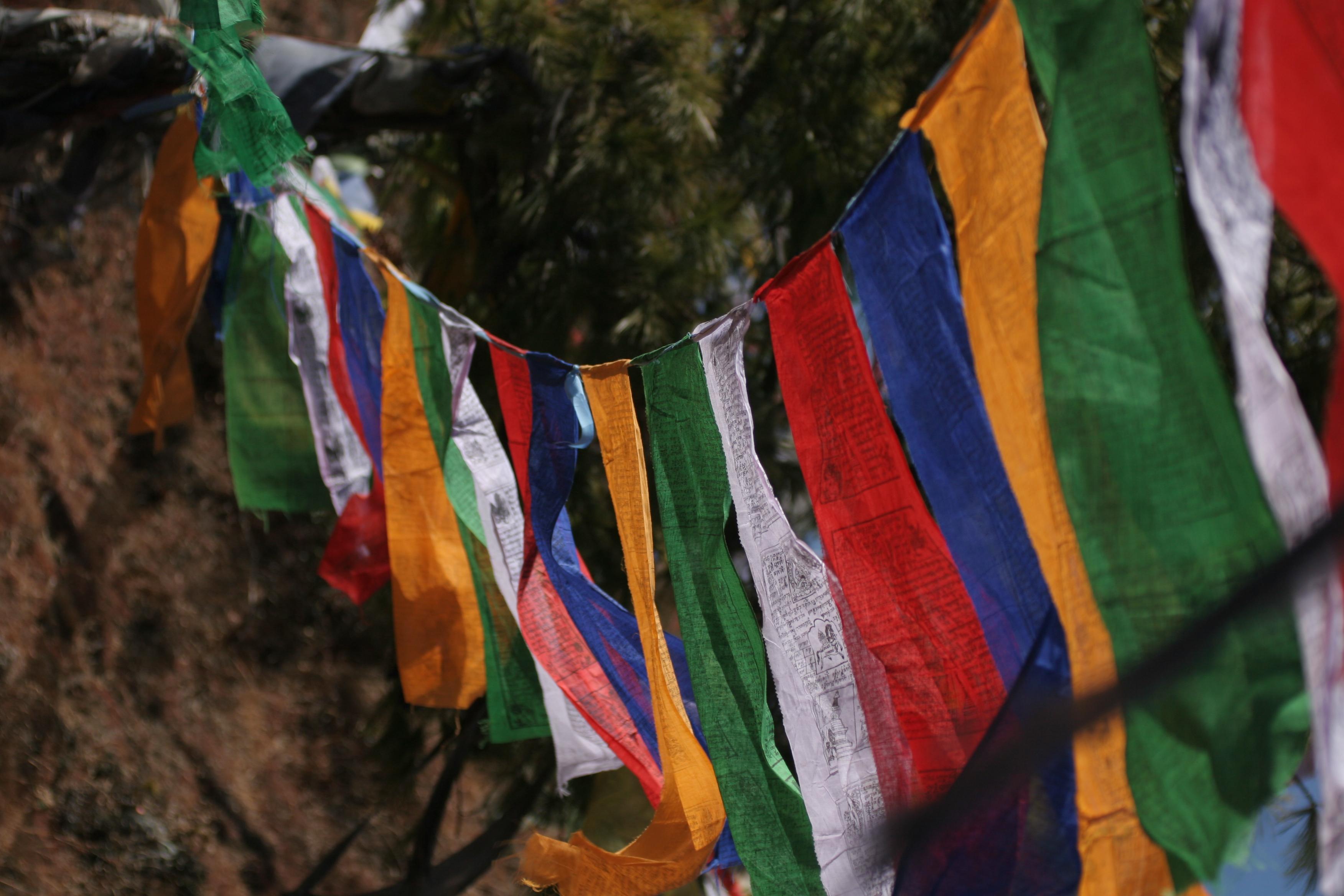 Paryer flag | Bhutan Visit