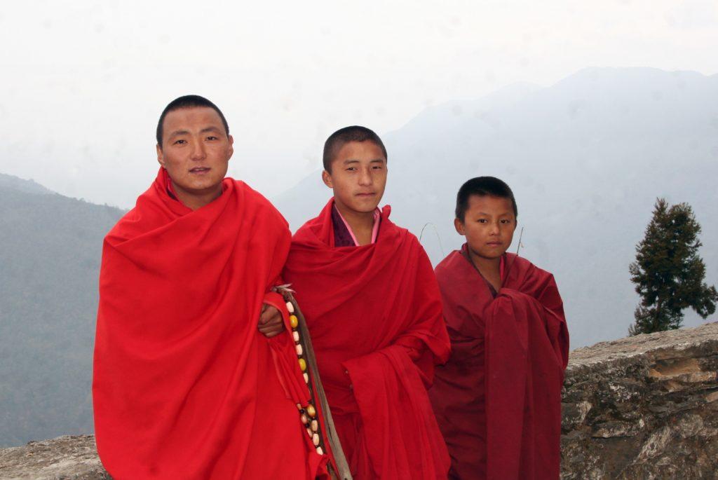 Monks-at-Zhemgang | Bhutan Visit