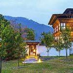 Aman Kora _Punakha_view of resort   Bhutan Visit